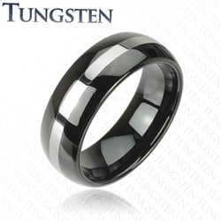 Blackcoat tungsten ring.