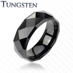 Tungsten Carbide Black Herrering