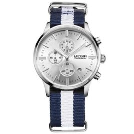 Yachtsman Watch Blue Chrono